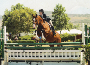 Junior hunter showing in southern California.